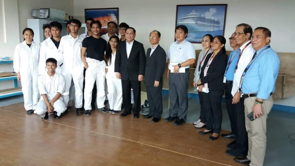 VISIT OF TWO (2) OFFICIALS FROM COOPERATIVE ASSOCIATION OF JAPAN SHIPBUILDERS (CAJS) PREPARATORY TO MOA SIGNING WITH UPHSD